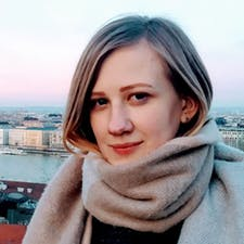 Freelancer Елизавета Величко — Text editing and proofreading, English