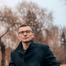 Freelancer Yurii P. — Ukraine, Kyiv. Specialization — JavaScript, HTML/CSS