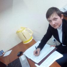 Freelancer Земфира О. — Ukraine, Dnepr. Specialization — Article writing, Business card design