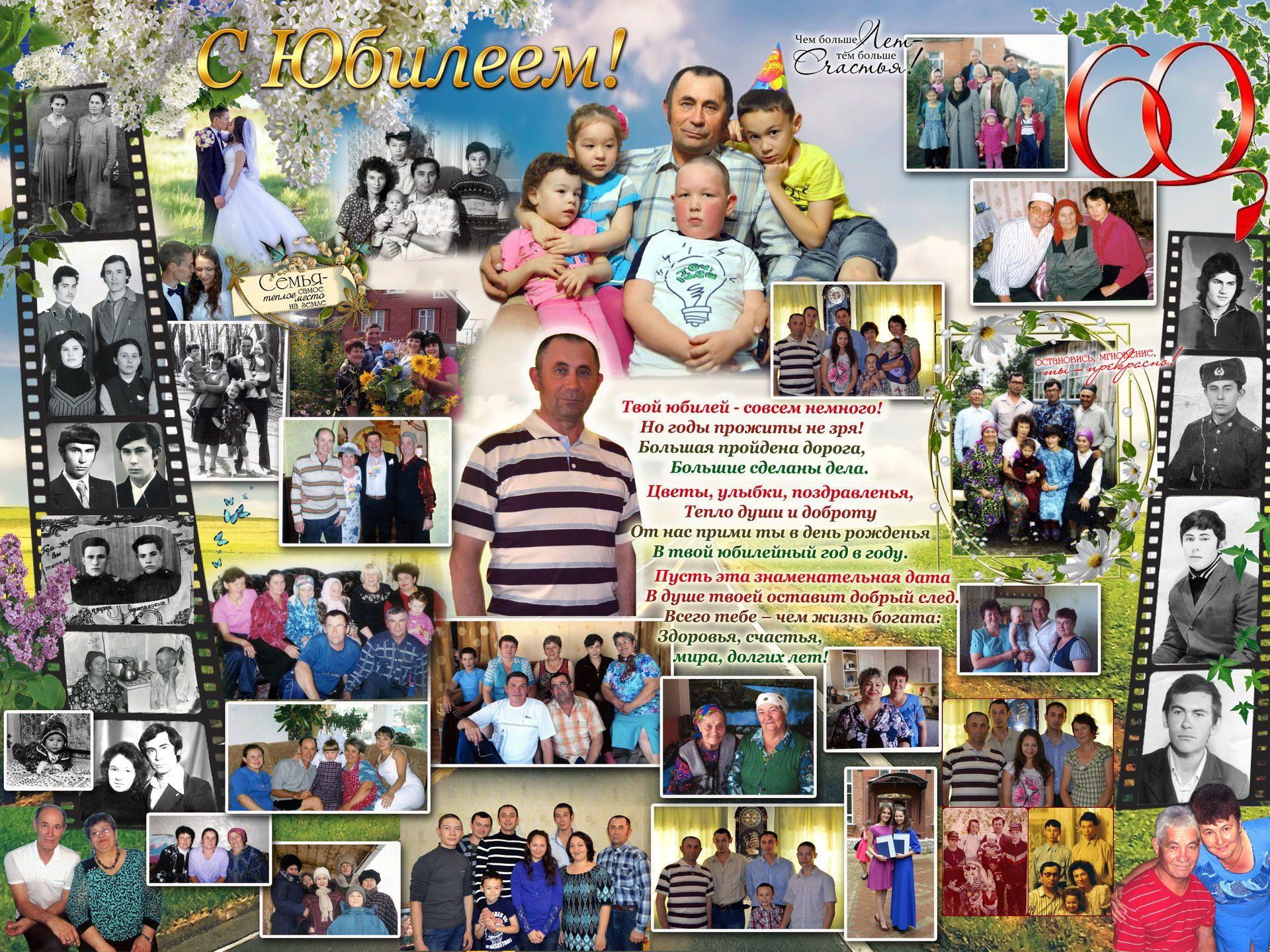Поздравления на юбилей мужчине от детей и внуков
