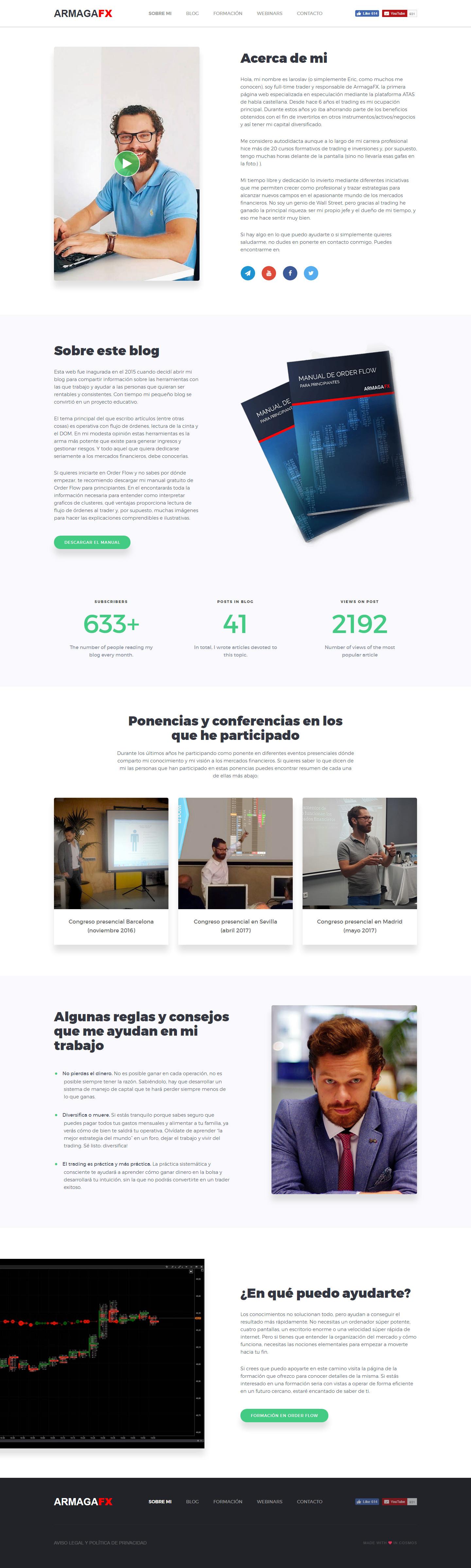 Верстка сайта с нуля html и css