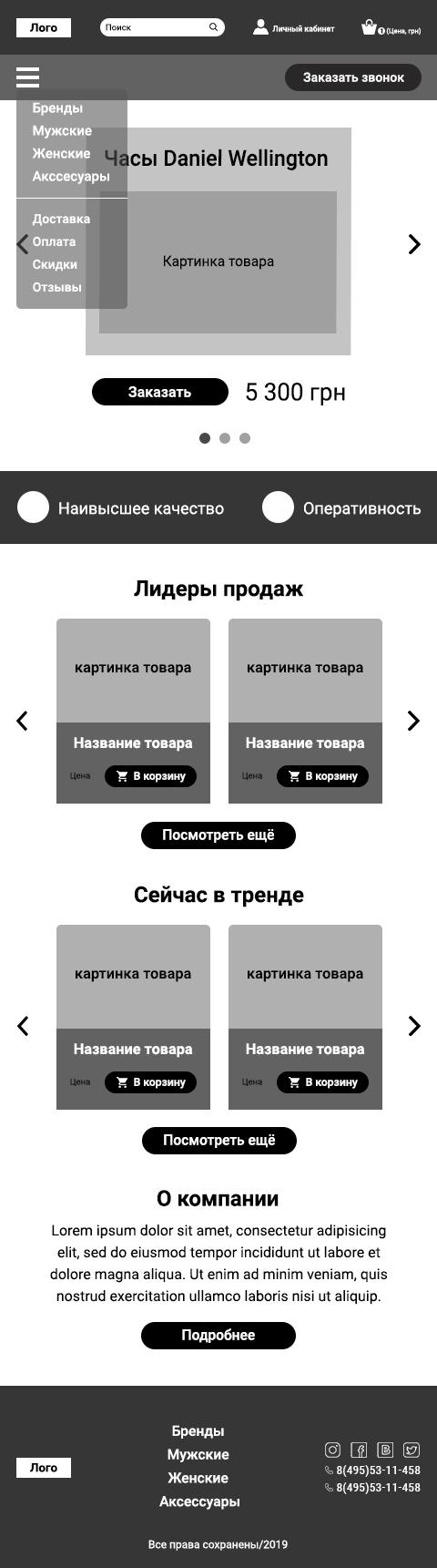 36d9449d Фрилансер Roman Bochkarev • дизайн сайтов и дизайн мобильных ...