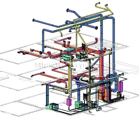 Программу magicad для проектирование вентиляции