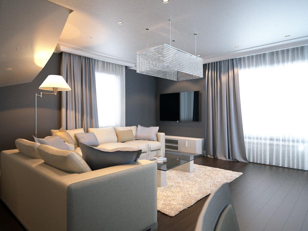 Дизайн интерьера в частном доме с фото