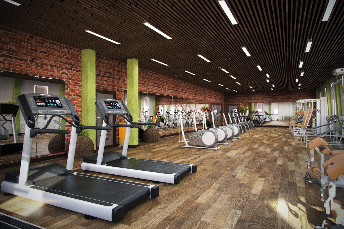 Дизайн фитнес клубы