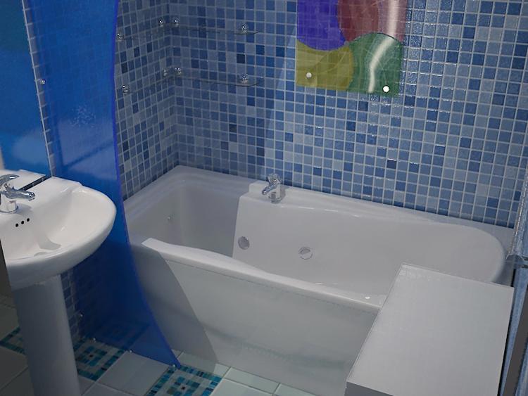 Дизайн панелей для ванной