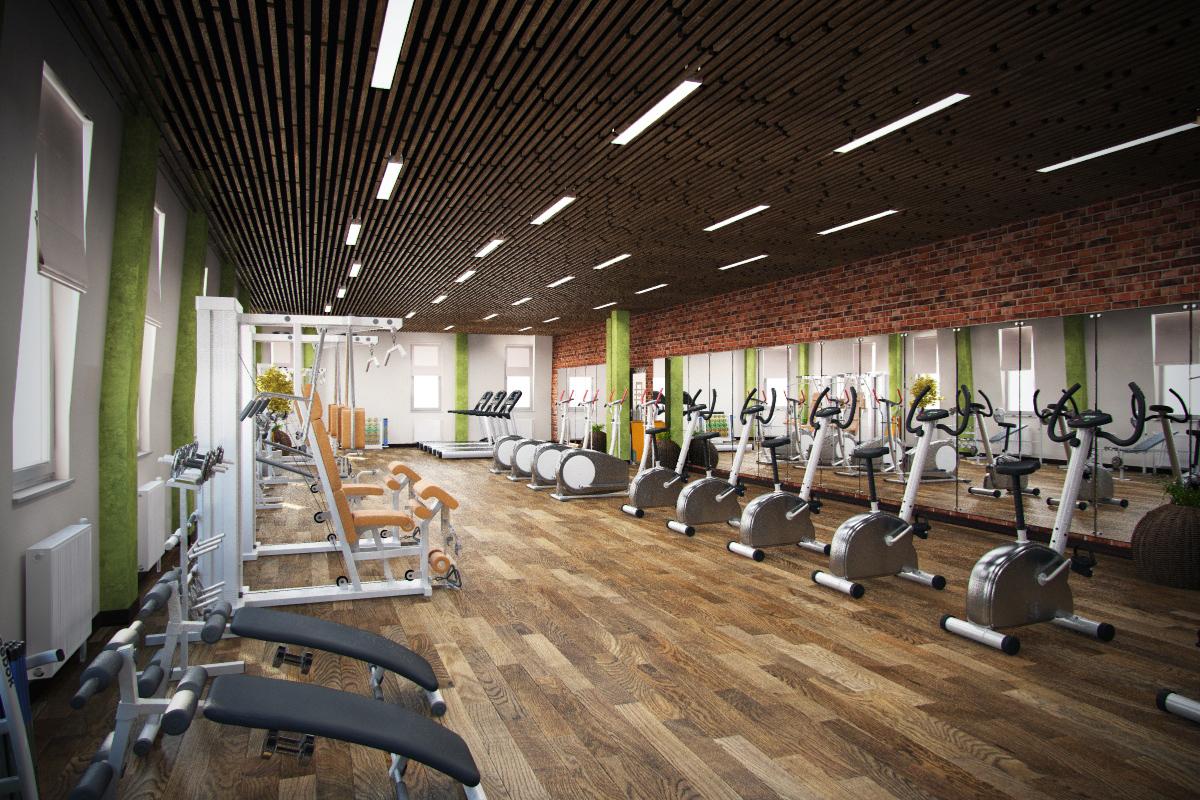 Дизайны фитнес клубов