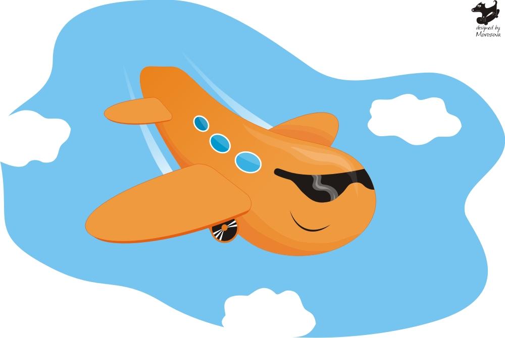 графика самолет: