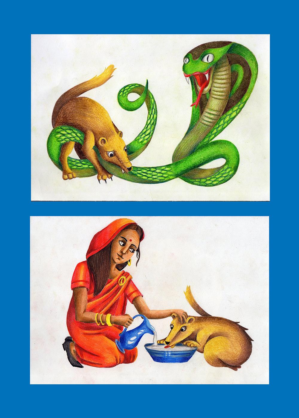 Иллюстрация 1 из 1 для рикки-тикки-тави - редьярд киплинг лабиринт - книги
