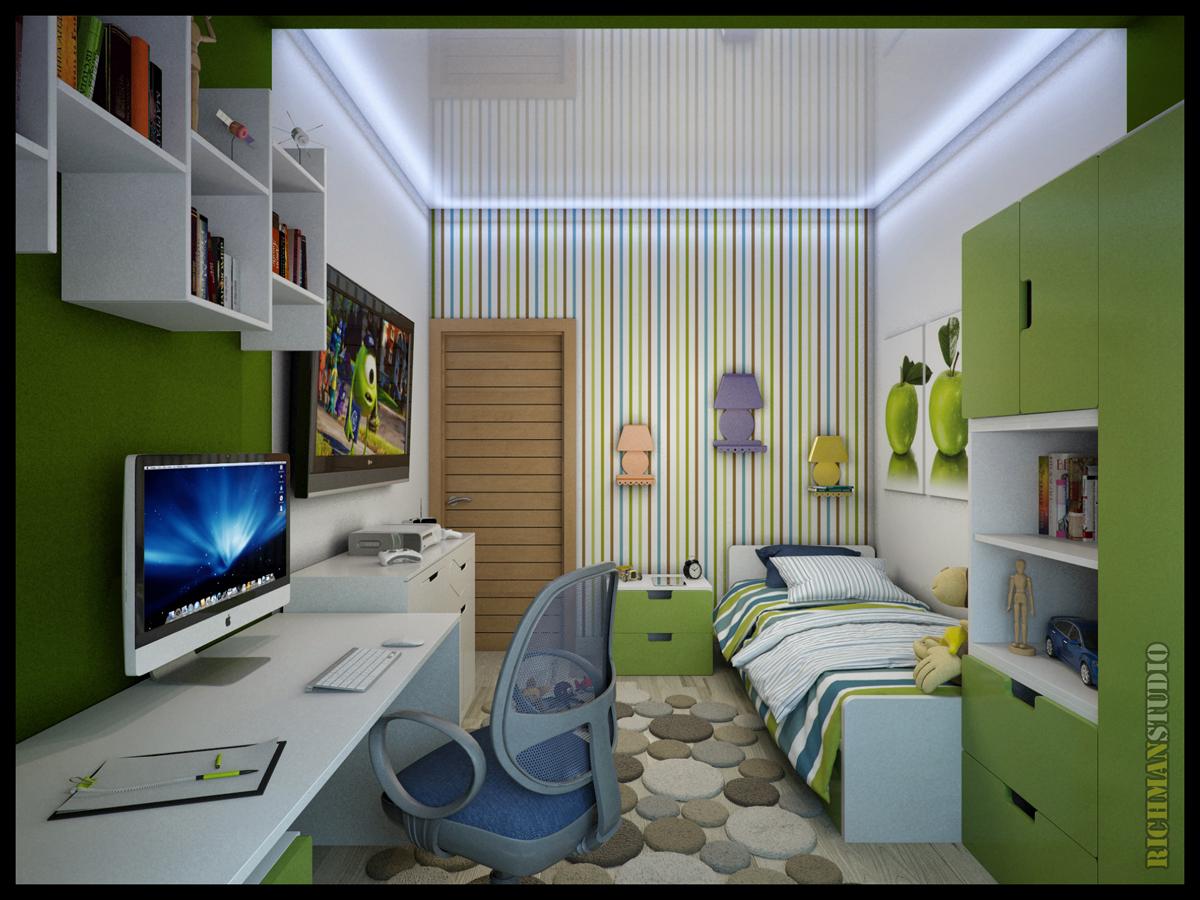 Детские комнаты для мальчиков дизайн 20 кв.м