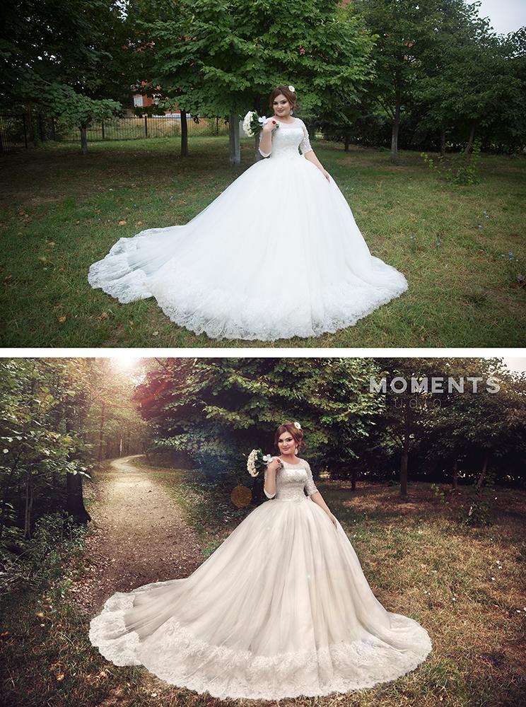 Идеи обработки свадебного фото