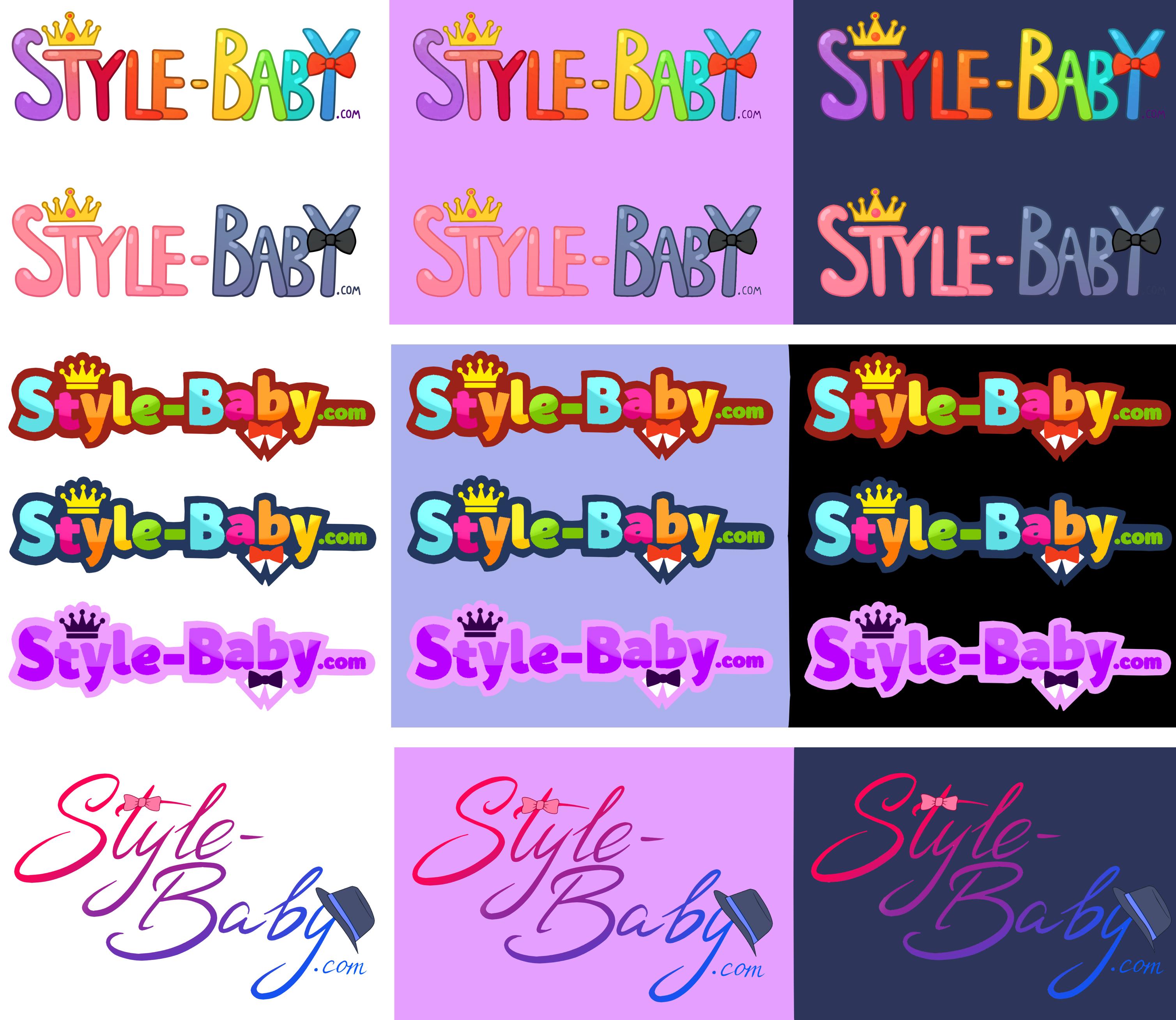Дизайн сайта детской одежды