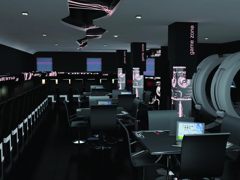Дизайны компьютерного клуба