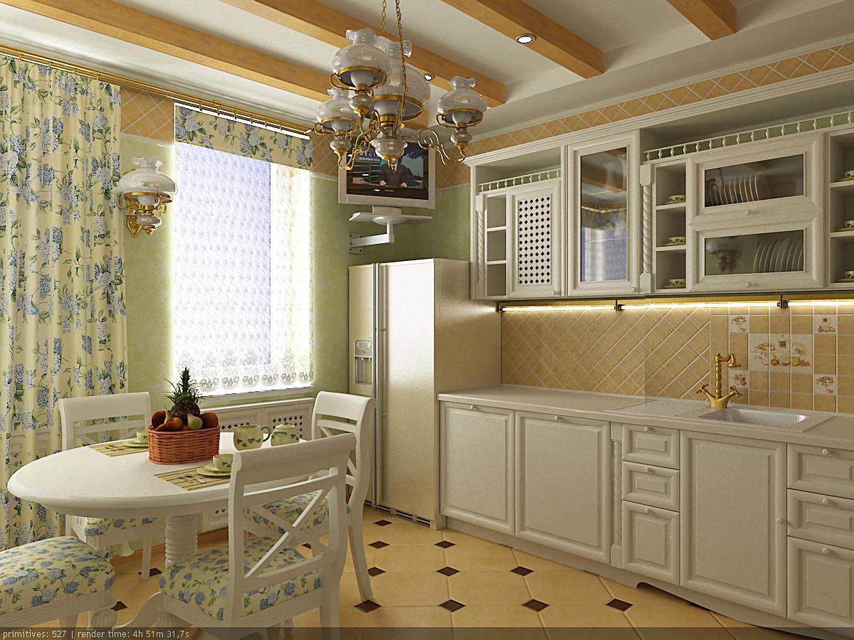 Дизайн кухни реальных