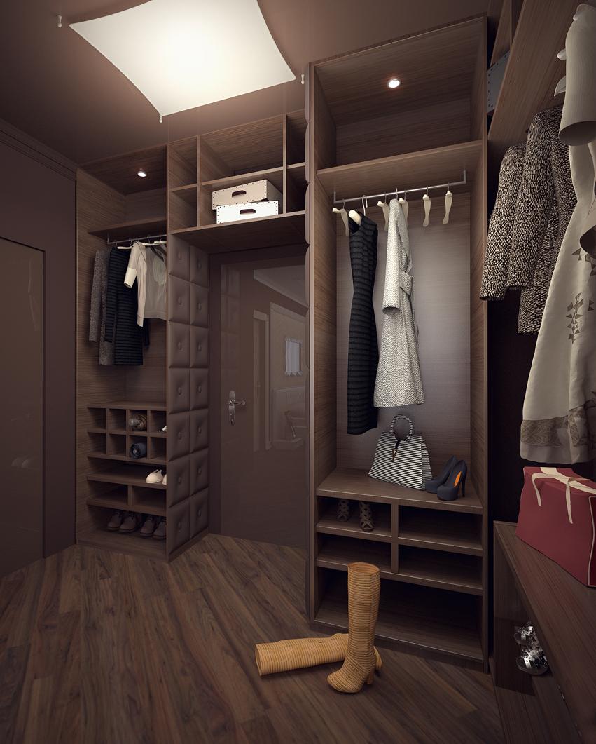 Гардеробные комнаты 2х2 дизайн проекты