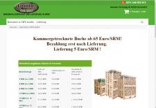 Сайт на Опенкарт для Германии