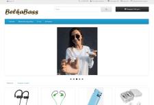 Создания интернет-магазина беспроводных наушников