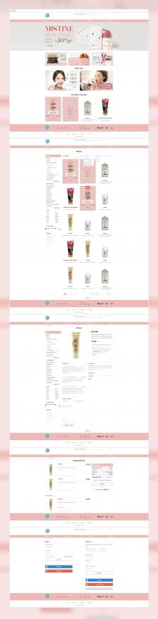Сайт LaMateria - продажа корейской косметики