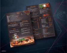 меню для пиццерии Гранд пицца