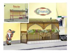 Чайхана Самарканд | оформление входной группы кафе