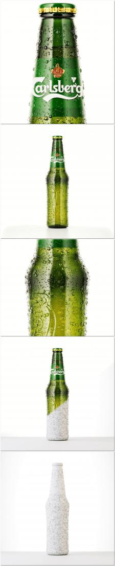Моделирование и рендер бутылки пива