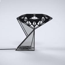"""Настольная лампа """"Діамант"""""""