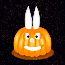 Хэллоуинский кролик
