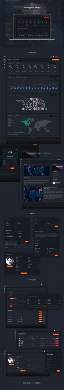 Дизайн веб приложения для бизнеса