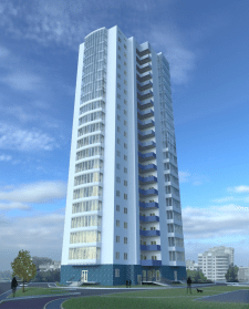 Жилое здание повышенной этажности