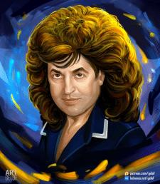 Ivo Bobul`s portrait / Портрет Ива Бобула