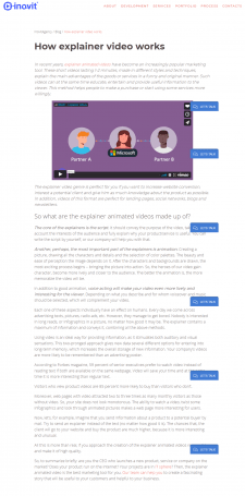 How explainer video works