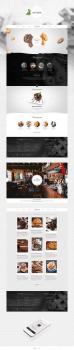 Дизайн для сайта Mr Keksik