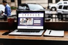 Дизайн сайта BigBan (языковая студия)