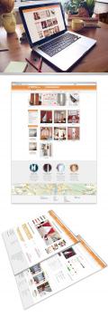 """Дизайн сайта для компании """"Shtory.ua"""""""