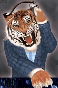 тигра DJ