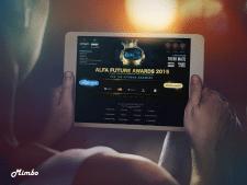 Сайт для всероссийской премии электронной музыке