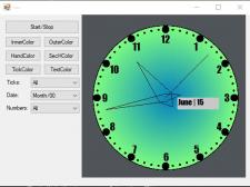Интерактивные часы