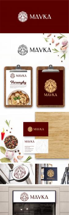 Логотип ресторана Mavka
