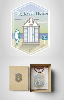Футболка дизайн\лого для Tiny Beach House