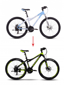 Превращение велосипеда - в другой :)