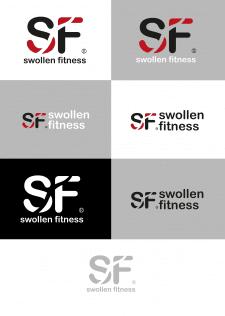 примеры логотипа swollen fitness