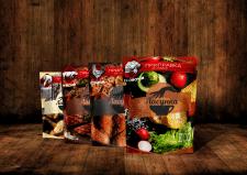 Пример дизайна упаковки приправ