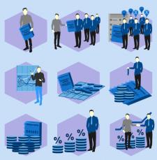 Инфографика краудинвестинговой платформы