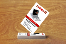 Макет визитки стол - 3