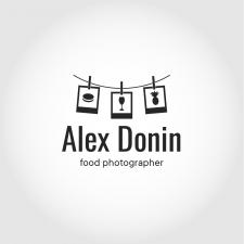 Логотип для фотографа еды