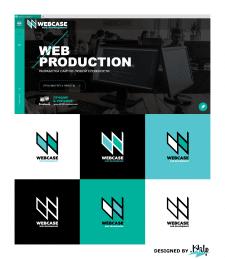 Логотип №2 для IT компании WEBCASE