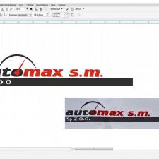 Отрисовка лого в вектор по фотографии