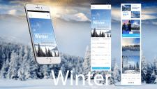 Mobile Nature Winter
