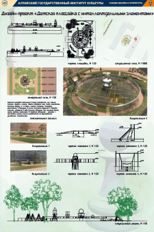 Дизайн-проект детской площадки