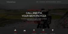 Реализация сайта MotoDye на bootstrap 4